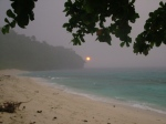the sunrise in San remigio